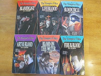Lot of 6 Books The Vampire Files by P. N. Elrod 1-6 Science Fiction Series