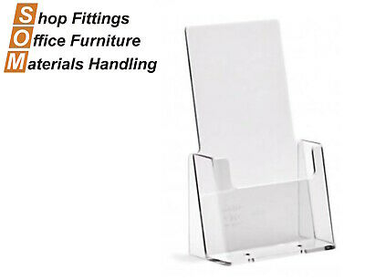1/3 A4 Acrylic Pamphlet Plastic Brochure Holder Display Stand