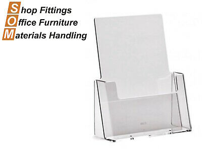 A5 Acrylic Plastic Brochure Holder Display Stand
