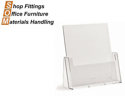 A4 Acrylic Plastic Brochure Holder Display Stand
