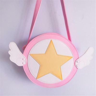 Shoulder Girl Bag Card Captor Sakura Kinomoto Cross Body Bag Purse Wallet Gifts
