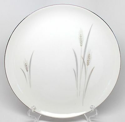 Fine China of Japan - Platinum Wheat - Dinner Plate(s) - Made in Japan