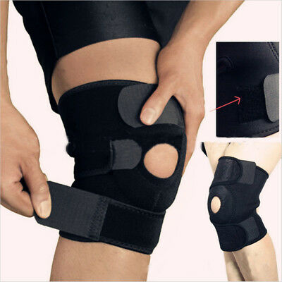 Patella Elastic Knee Brace Fastener Support Guard Gym Sport Kneecap Stabilizer W