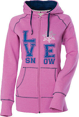 NEW DIVAS Love Snow Zip Hoody