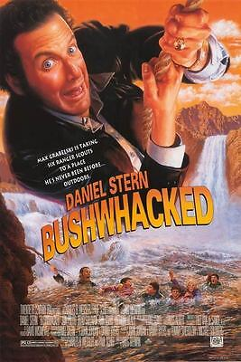 Bushwhacked Original S/S Rolled Movie Poster 27x40 NEW 1995 Daniel Stern Comedy