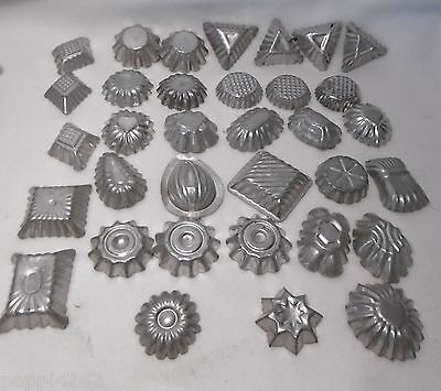 ++ 34 x alte Schokoladenform Pralinenform chocolate mold Backform ++