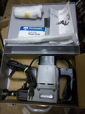 "NOS USA Rockwell / Porter Cable 601 Rotary Hammer Drill, 1-1/2"" capacity"