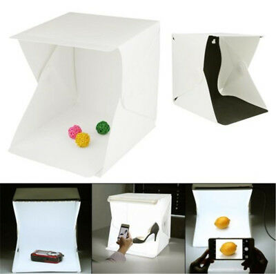 Light Room Photo Studio Photography USB LED Lighting Tent Backdrop Cube Box IW