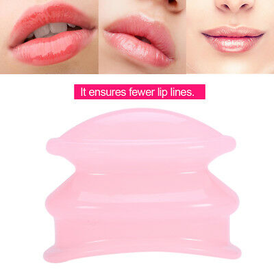 Women Portable Silicone Lip Plumper Enhancer Lip Suction Device Beauty Tool