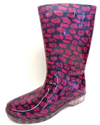 Ladies Wellington Boots Floral Lilac Multi Flowery Wellie Boots - X1182