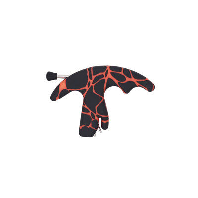 Red&Black 3 Fingers Compound Bow Release Aid Archery Release F Outdoor Training
