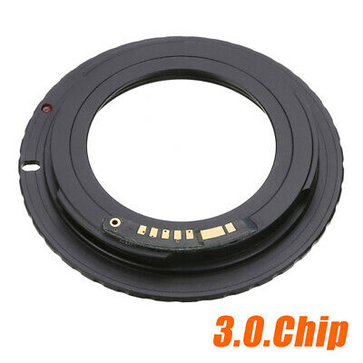 M42 Chips Lens Adapter Ring For AF III to Canon EOS EF 550D 7D 5D E F M Camera