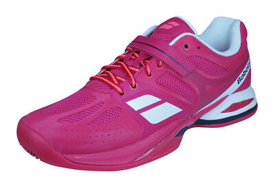 Babolat Propulse BPM Clay Womens Tennis Trainers / Shoes - Pink