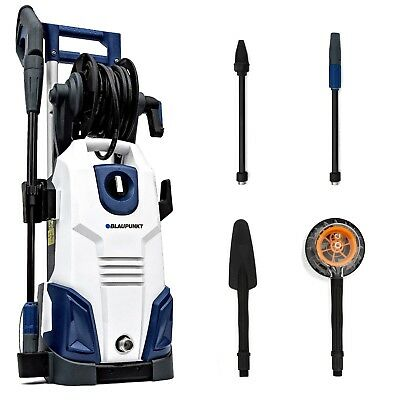 BLAUPUNKT Pressure Washer with Induction Motor, Turbo Nozzle & Accessories Kit