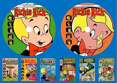 Richie Rich Comic Collection 2 On Two DVD Roms