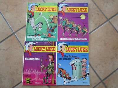 Lucky Luke Comic Nr. 22  23  26  27