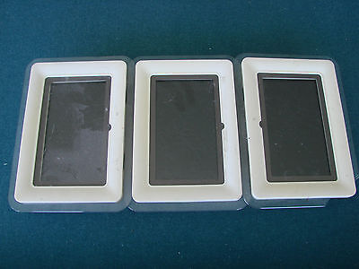 5 Piece Coby DP-772 Digital Picture Frames