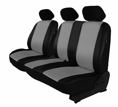 ECO LEATHER VAN UNIVERSAL SEAT COVERS for TOYOTA HIACE 2 + 1