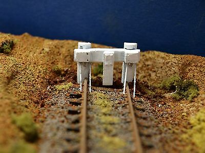 VR buffer stops kit in HO scale Twin pack