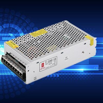 DC 12V 20A Universal Regulated Switching Power Supply for Closed Circuit TE725