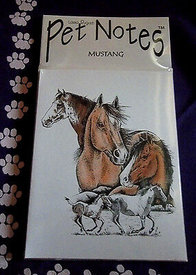 Mustang Horse Note Cards