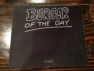 Used Mousepad For PC Computer Laptop Mouse Pad Bob's Burgers Burger of the Day