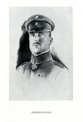 Alfred Keller * German flying hero in World War 1