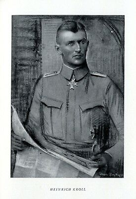 Heinrich Kroll * German flying hero in World War 1