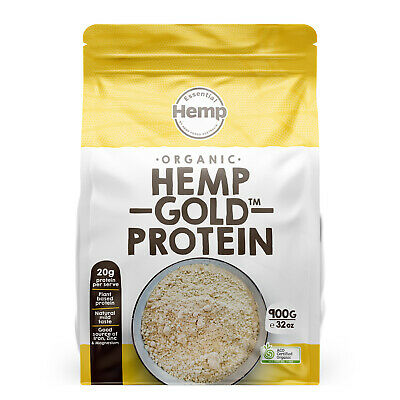 HEMP PROTEIN AUST CERTIFIED ORGANIC - DISCOUNTED 500g SHORT DATED STOCK EXP AUG