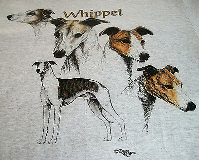 "Whippet T-shirt  "" Natural "" 3XL ( 54 ~ 56 )"