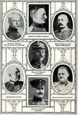 Gronau-Urach-Schenck-Kuhl-Werder * German military commander in World War 1