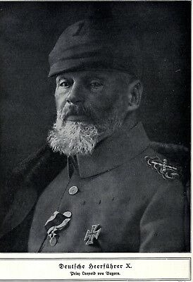Prinz Leopold von Bayern * German military commander in World War 1