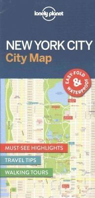 Lonely Planet New York City Map by Lonely Planet (Sheet map, 2016)