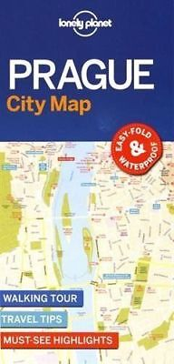 Lonely Planet Prague City Map by Lonely Planet (Sheet map, 2017)