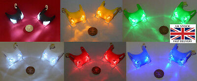 2PCS (1 Pair) Bright Baby Childs Pushchair safety lights-UK STOCK-FREE P&P