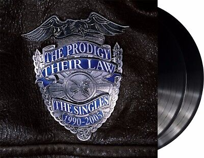 "The Prodigy ""their law - the singles"" 180g silver coloured Vinyl 2LP NEU Album"