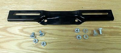 1956 CHEVY FRONT LICENSE PLATE MOUNTING BRACKET with HARDWARE, new