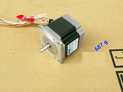 0.8Nm/113on-in NEMA 23 Stepper Motor CNC Mill Robot Lathe RepRap 3D Printer GRBL
