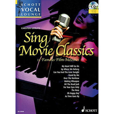 Notenbuch Schott Schott Vocal Lounge Sing Movie Classics Noten Lehrbuch Buch NEU