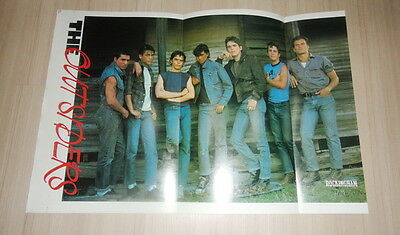 The Outsiders Matt Dillon Tom Cruise PIN UP POSTER Thailand Magazine Clipping