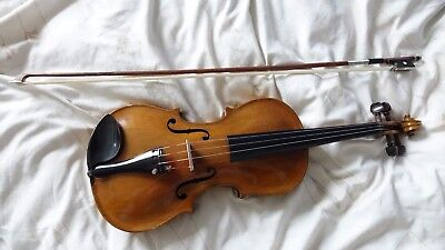Antique Full Size Violin Package. Stainer Copy, Circa late 19th Century