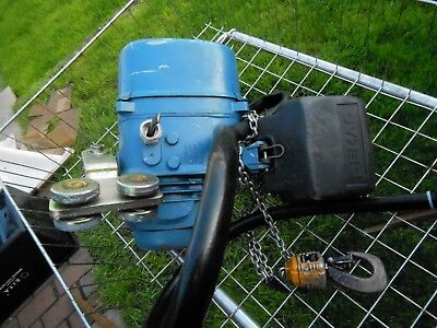 Demag Electric Hoist 3 Phase Chain Lift Hook - Made in Germany 1995