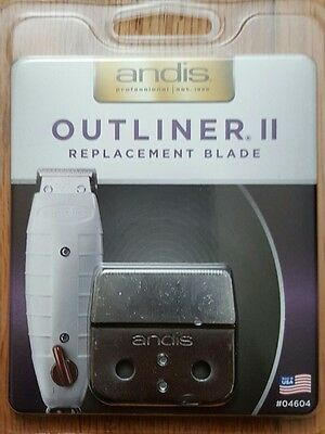ANDIS OUTLINER 2 II Replacement Blade set #04604