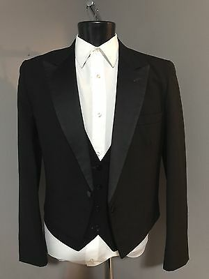 Men's Cut Off Style Tuxedo Jacket By Raffinatti/Also used with Kilts many Sizes