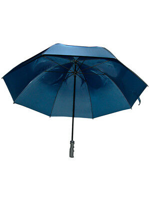 GustBuster Pro Series Gold Umbrella 62 Inch Navy