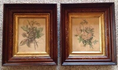 Pair Of Antique Picture Frames ~ Eastlake ~ Victorian Style ~ Shadow Box ~ Nice
