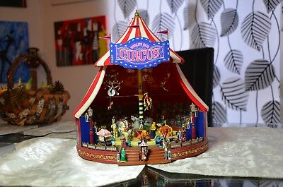 Gold Label Collection World´s Fair Big Top elektrischer Zirkus 31cm Funktion Rar