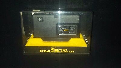 Vintage Kodak Disc 6000 Camera Mint in original box with paperwork. Never used.