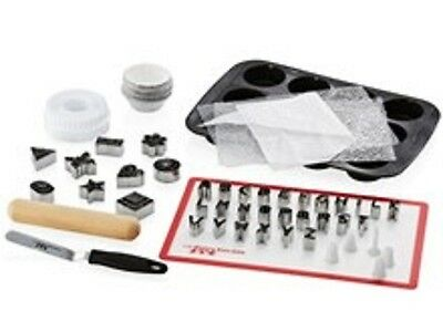 The Chefs Toolbox Cupcake Decorating Kit Toolbox Brand New - RRP $99
