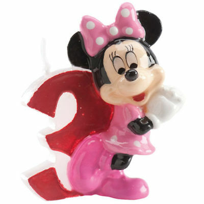 Minnie Mouse Kinder 3. Geburtstags Kerze torte Disney torten deko